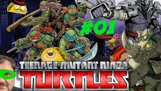 TMNT: Mutants in Manhattan #01 PS4 Gameplay TacoBay07