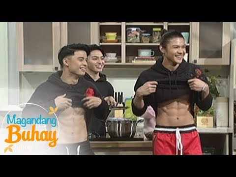 Magandang Buhay: Tristan, Russell and Niel show off their abs