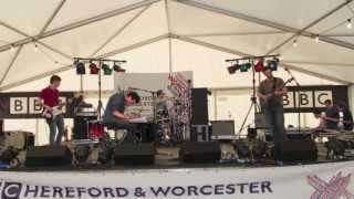 George Barnett's BBC Introducing session at the Wychwood Festival