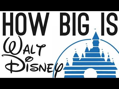 How BIG is Walt Disney? (They