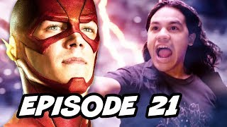 The Flash Season 2 Episode 21 - TOP 10 WTF and Easter Eggs