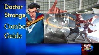 [Marvel vs Capcom Infinite] peck's Combo Guide for Doctor Strange [PS4] w/60fps