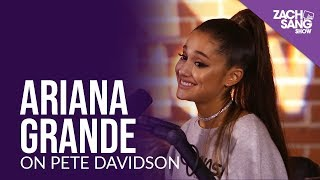 Ariana Grande Talks Engagement to Pete Davidson