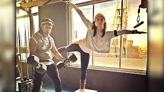Alia Bhatt And Ranveer Singh INTENSE Workout Together For Gully Boy