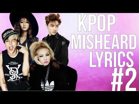 KPop Misheard Lyrics #2 [Yes, there are many BTS references, I'm an ARMY, move on ❤️]