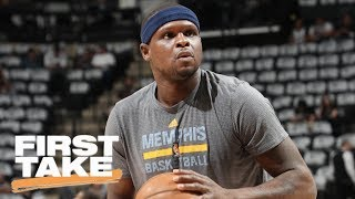 Stephen A. Smith 'Disgusted' with Zach Randolph's Marijuana Arrest | First Take | ESPN
