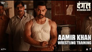 Dangal | Aamir Khan Wrestling Training  | In Cinemas Now