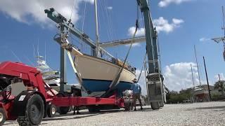 Charlotte Harbor Boat Storage Travel lift and Haule
