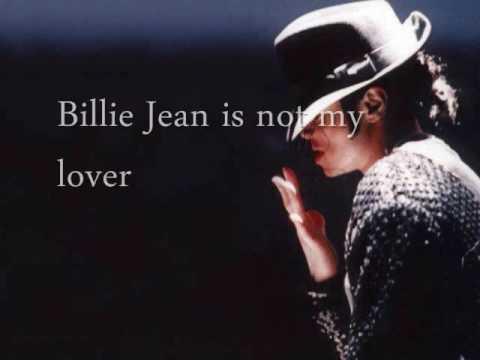 """Billie Jean"" by Michael Jackson w Lyrics"