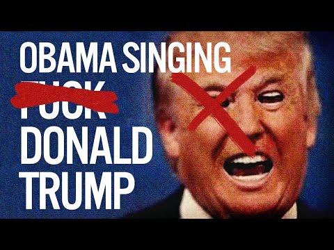 Barack Obama Singing F*** Donald Trump by YG