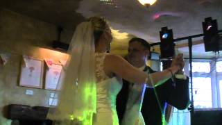 Chris and Kelly's First Wedding Dance