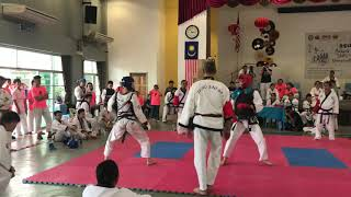 Tang Soo Do National 2018- Ryan Sim vs Kiu Guang Jie