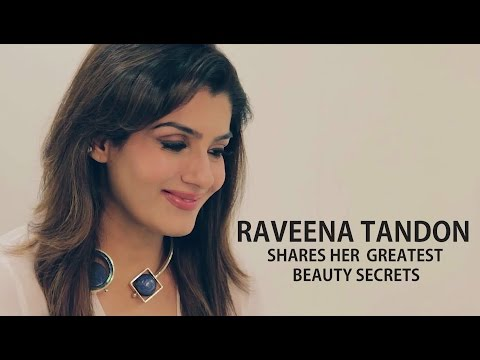 Raveena Tandon shares her greatest beauty secrets, and how her regime has evolved over the years
