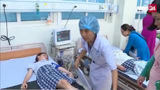 Quảng Ngãi: 40 học sinh ngộ độc nghi do uống trà sữa - Tin Tức VTV24