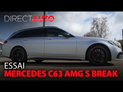 Essai MERCEDES C63 AMG S BREAK