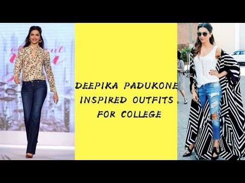 Xxx Mp4 Deepika Padukone Inspired Outfits How To Style Jeans For School College KRI GA 3gp Sex