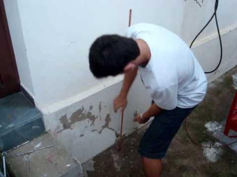 Fantastica instalação de fio terra by Marcelo Pera PY2AE Valinhos SP