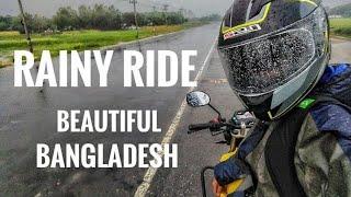 Rainy ride I Beautiful Bangladesh I GoPro HERO5 Black Without Mic Adapter..