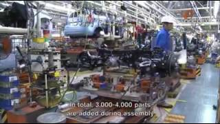Nissan Car Production in Japan