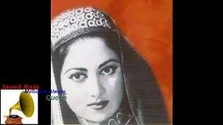 SURAIYA:Film:CHAR DIN:1949-Ik Bewafa Ki Yaad Ne Tadpa Ke Maar Dala-[ H Q High Bass Sound ]