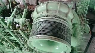 পারাবত - ১১ লঞ্চের নতুন ইঞ্জিন || Paravat 11 Full Engine Room new || Exclusive