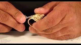 Handmade 18Kt Gold Lion Ring Part 2 by G.S. Benyamin @ BGA Studios.org