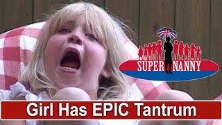 Young Girl Throws Epic Tantrum! | Supernanny UK