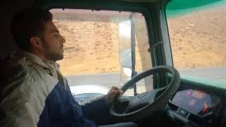 حادث فادي الكركي (تصوير مباشر اثناء الحادث)  شاحنه