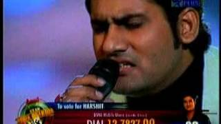 Tu mile dil khile | harshit saxena | most loved performance | voice of india|