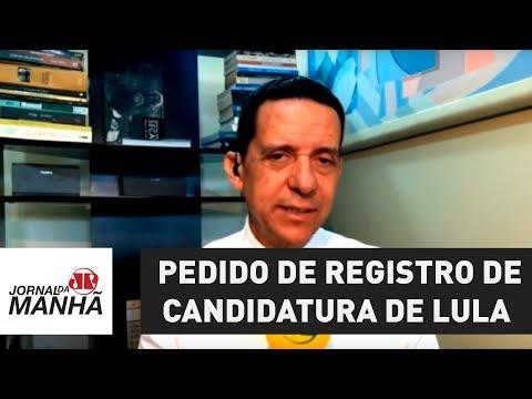 Por estar preso, pedido de registro de candidatura de Lula deve ser rejeitado de imediato