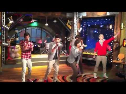One Direction en iCarly What Makes You Beautiful