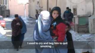 Afghan female injecting drug user gets help