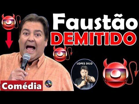 Faustão é demitido da Globo por causa de declaração, diz boato