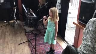 Finley singing