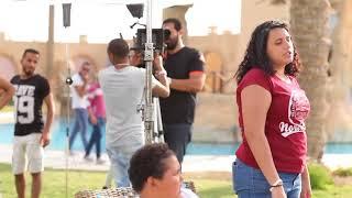 الأطفال😂 في كواليس تصوير مسلسل يوميات زوجة مفروسة  - Youmyat Zoga Mafrosa
