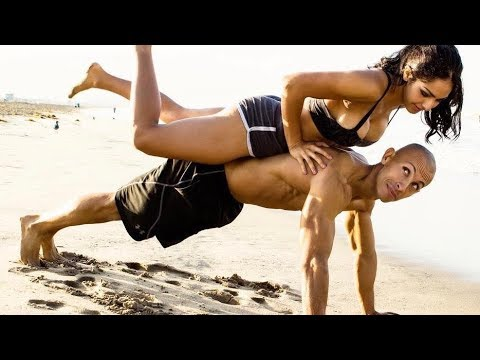 HOT Fitness couple KILLER WORKOUT