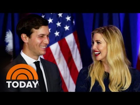 Donald Trump's Daughter Ivanka And Her Husband Are Key Players   TODAY