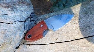Making a Neckknife from an old Sawblade