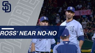Tyson Ross takes a no-hitter into the 8th inning
