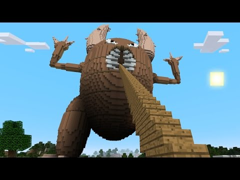 Minecraft vs Pokemon go GIGA PINSIR PvZ Pokego Land