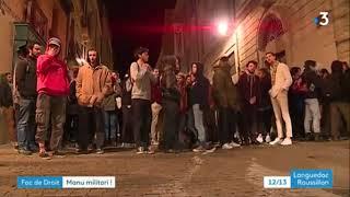 Montpellier: Fac de droit.  Des étudiants passés à tabac par des hommes cagoulés