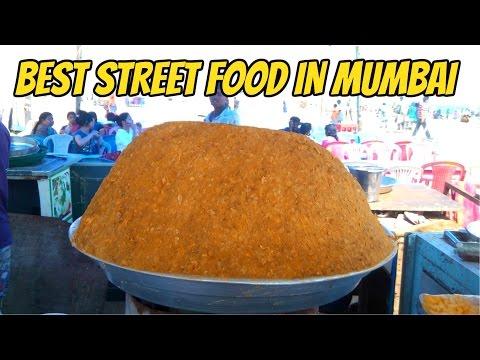 Best Street Food In Mumbai - Pani Puri And Aloo Chat - Indian Street Food 2017 - Village Food