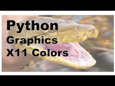 Python X11 Colors Eachnow