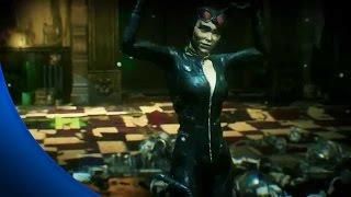 Batman Arkham Knight - All Riddler Riddles to Rescue Catwoman - Riddler Revenge