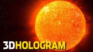 3d hologram a tour of the solar system  3d hologram projector