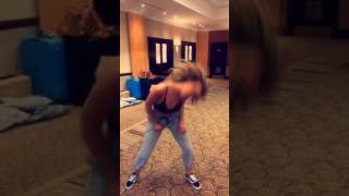Perrie Edwards -Sexy dance On Snapchat