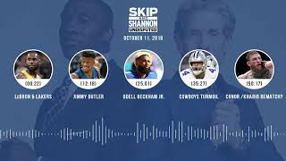 UNDISPUTED Audio Podcast (10.11.18) with Skip Bayless, Shannon Sharpe & Jenny Taft | UNDISPUTED