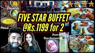5 Star Unlimited Buffet at Rs 1199 for 2 people | The Great Kabab Factory | Saket | Delhi |