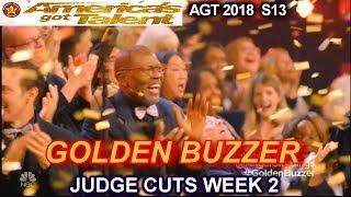 "Angel City Chorale Choir Gets GOLDEN BUZZER  ""Baba Yetu"" America's Got Talent 2018 Judge Cuts 2 AGT"