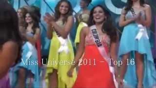 Ultimas Clasificaciones de Colombia en Miss Universo